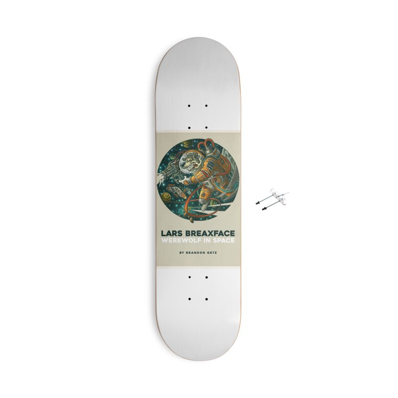 Lars Breaxface Cover - Joe Mruk Accessories With Hanging Hardware Skateboard by Spaceboy Books LLC's Artist Shop