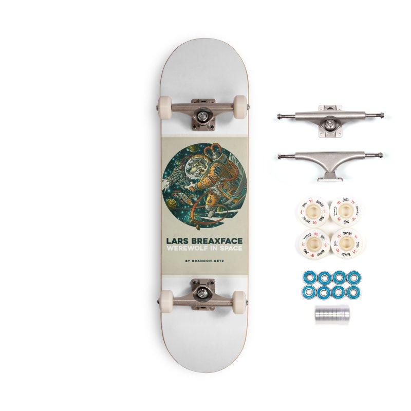 Lars Breaxface Cover - Joe Mruk Accessories Complete - Premium Skateboard by Spaceboy Books LLC's Artist Shop