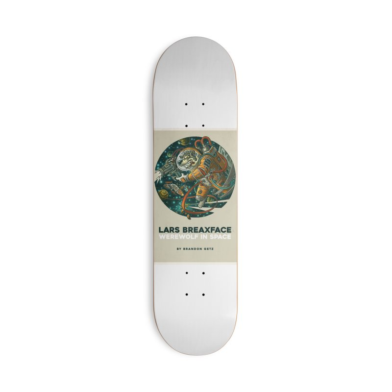 Lars Breaxface Cover - Joe Mruk Accessories Deck Only Skateboard by Spaceboy Books LLC's Artist Shop