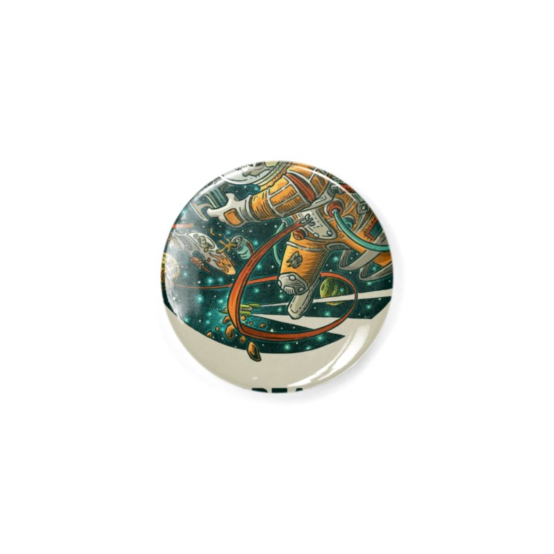Lars Breaxface Cover - Joe Mruk Accessories Button by Spaceboy Books LLC's Artist Shop