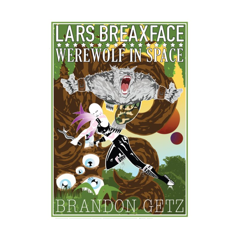 Lars Breaxface Cover - Brian Price Women's Scoop Neck by Spaceboy Books LLC's Artist Shop