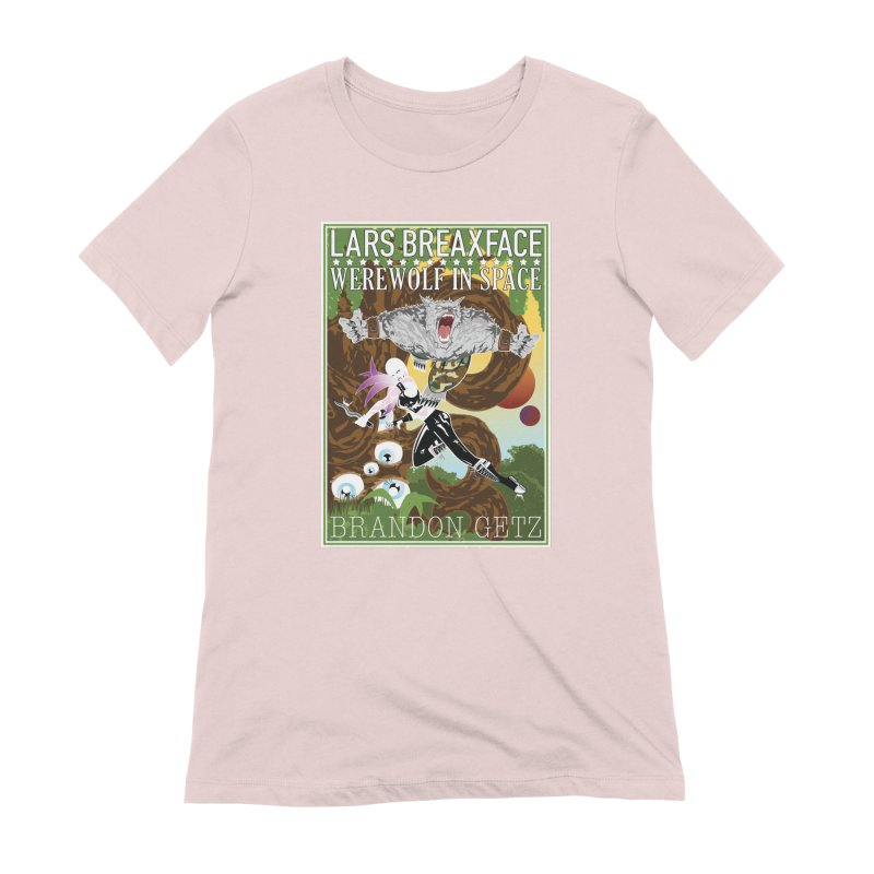 Lars Breaxface Cover - Brian Price Women's Extra Soft T-Shirt by Spaceboy Books LLC's Artist Shop