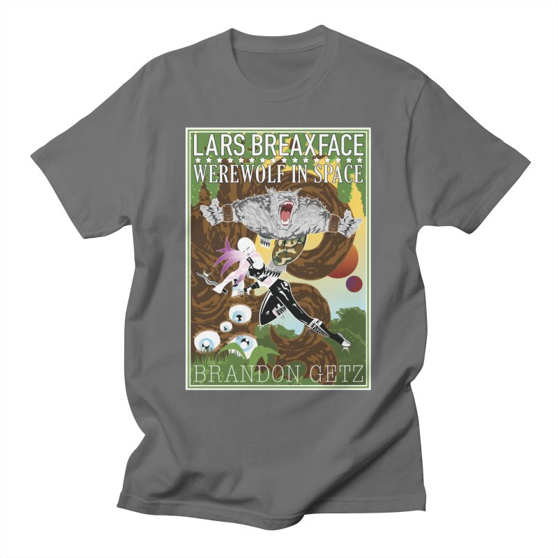 Lars Breaxface Cover - Brian Price Men's T-Shirt by Spaceboy Books LLC's Artist Shop