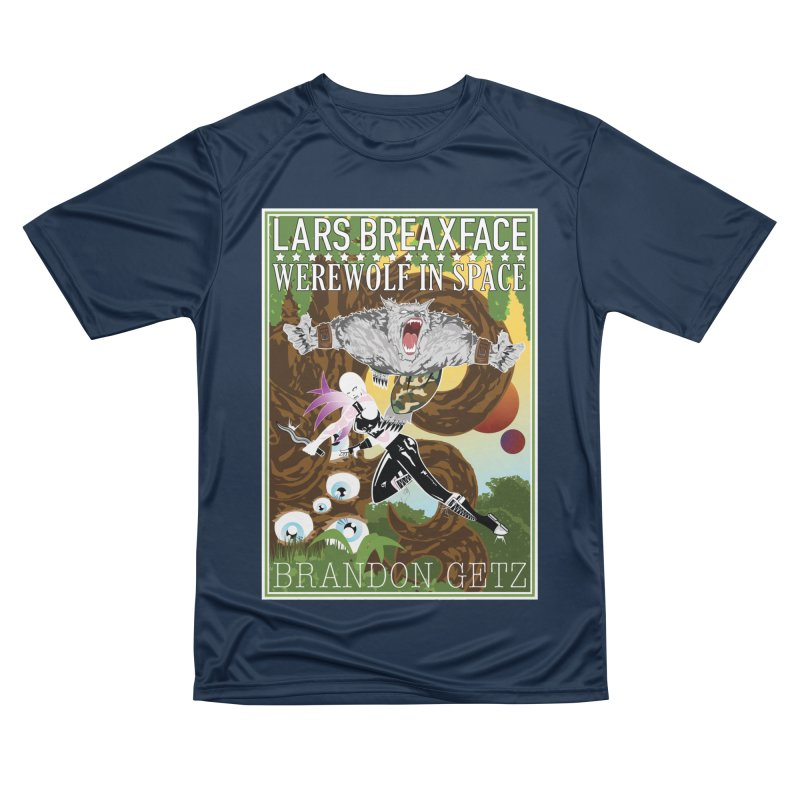 Lars Breaxface Cover - Brian Price Women's Performance Unisex T-Shirt by Spaceboy Books LLC's Artist Shop