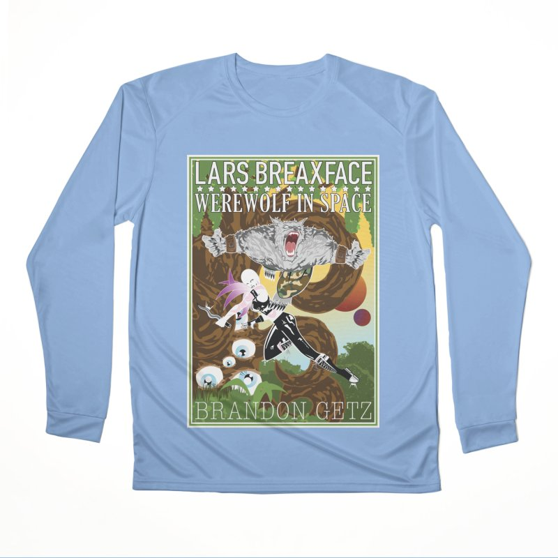 Lars Breaxface Cover - Brian Price Men's Performance Longsleeve T-Shirt by Spaceboy Books LLC's Artist Shop