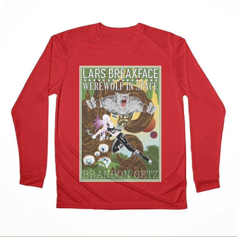 Lars Breaxface Cover - Brian Price Men's Longsleeve T-Shirt by Spaceboy Books LLC's Artist Shop