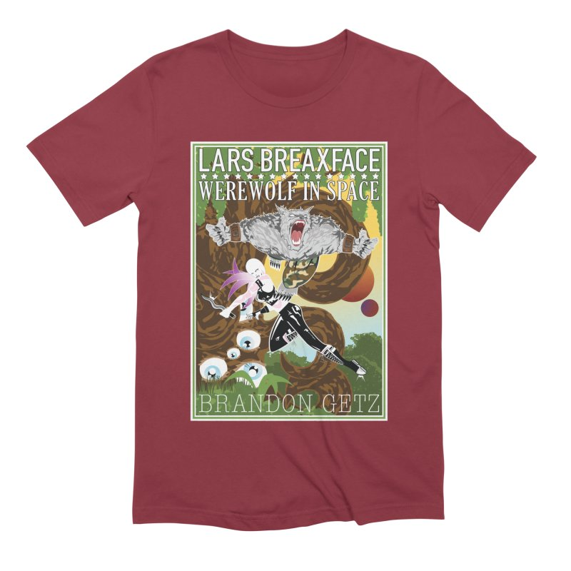 Lars Breaxface Cover - Brian Price Men's Extra Soft T-Shirt by Spaceboy Books LLC's Artist Shop