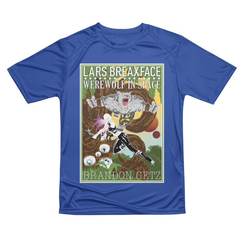 Lars Breaxface Cover - Brian Price Women's Performance Unisex T-Shirt by Spaceboy Books LLC's Artist Shop