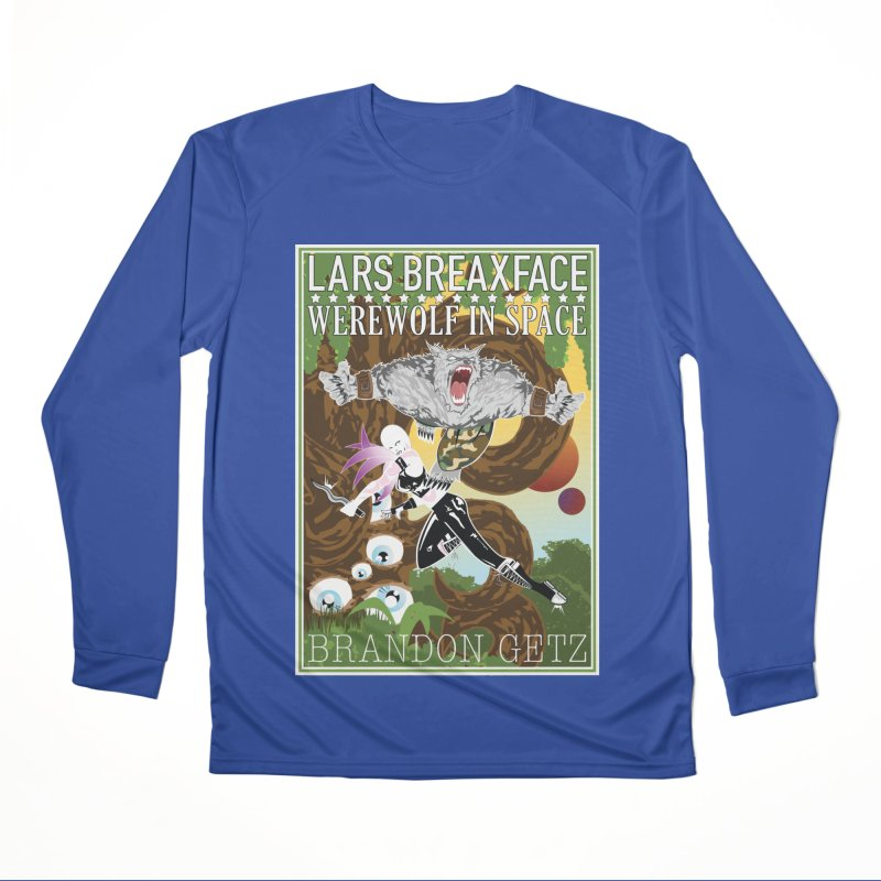 Lars Breaxface Cover - Brian Price Women's Performance Unisex Longsleeve T-Shirt by Spaceboy Books LLC's Artist Shop