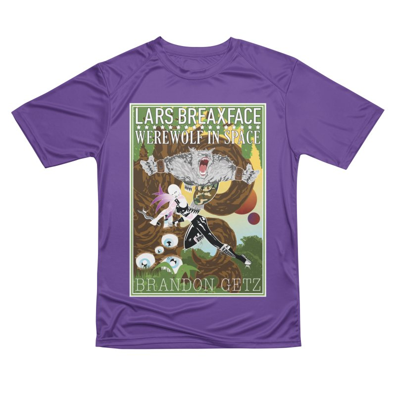 Lars Breaxface Cover - Brian Price Men's Performance T-Shirt by Spaceboy Books LLC's Artist Shop
