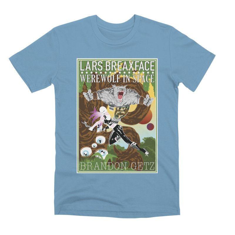 Lars Breaxface Cover - Brian Price Men's Premium T-Shirt by Spaceboy Books LLC's Artist Shop