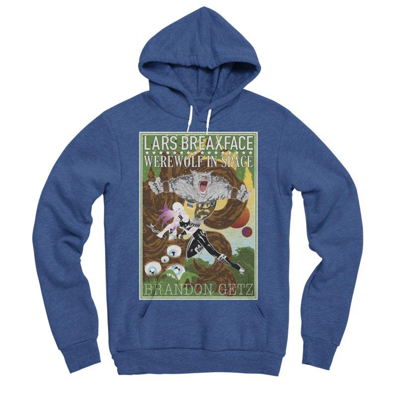 Lars Breaxface Cover - Brian Price Men's Sponge Fleece Pullover Hoody by Spaceboy Books LLC's Artist Shop