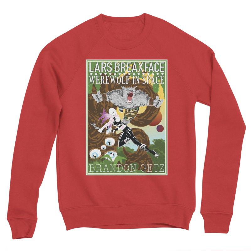Lars Breaxface Cover - Brian Price Women's Sponge Fleece Sweatshirt by Spaceboy Books LLC's Artist Shop