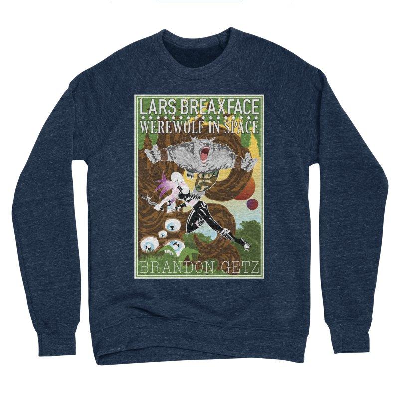 Lars Breaxface Cover - Brian Price Men's Sponge Fleece Sweatshirt by Spaceboy Books LLC's Artist Shop