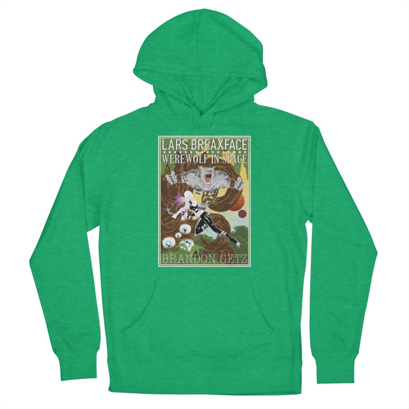 Lars Breaxface Cover - Brian Price Men's Pullover Hoody by Spaceboy Books LLC's Artist Shop