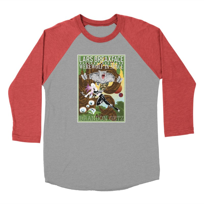 Lars Breaxface Cover - Brian Price Men's Longsleeve T-Shirt by Spaceboy Books LLC's Artist Shop