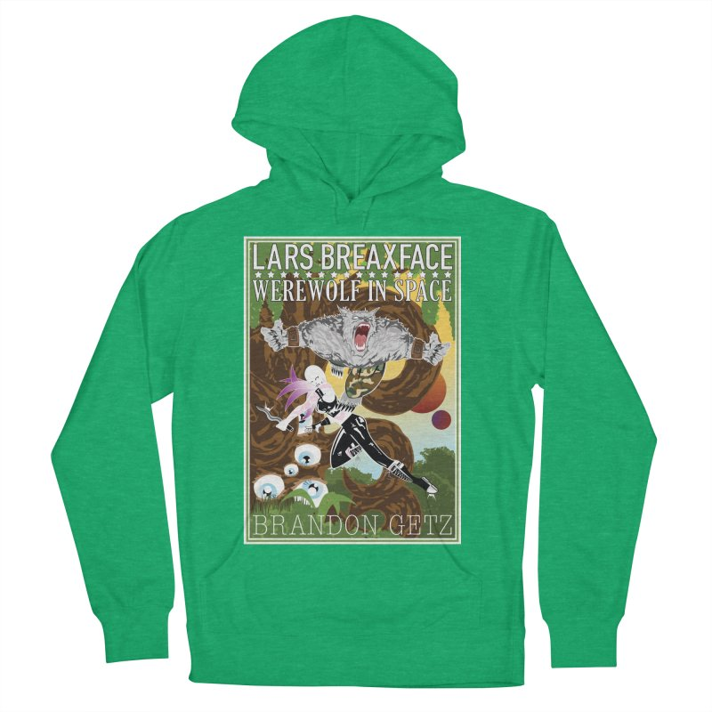 Lars Breaxface Cover - Brian Price Women's French Terry Pullover Hoody by Spaceboy Books LLC's Artist Shop
