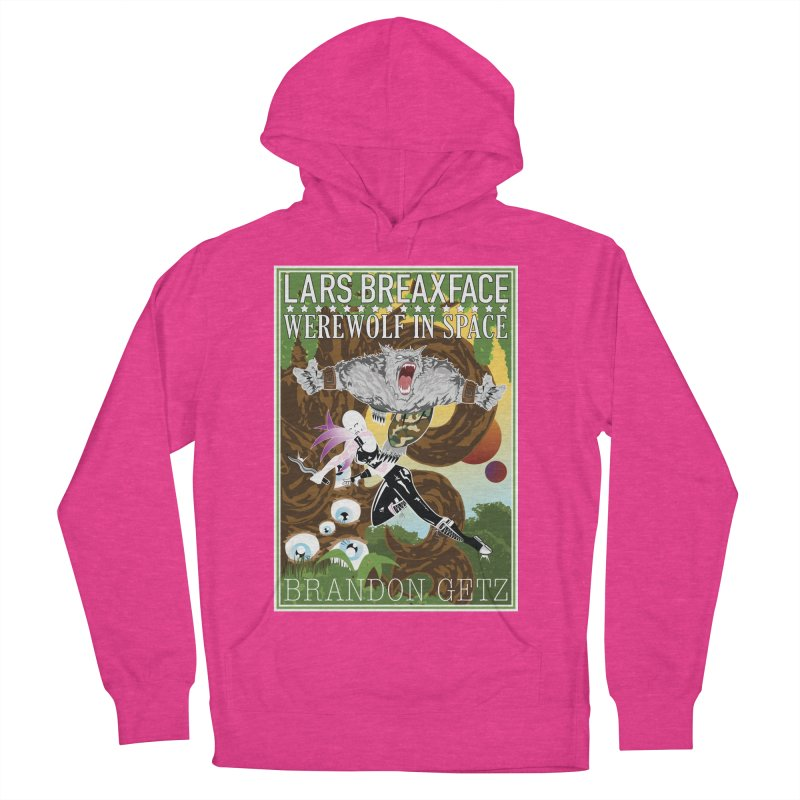 Lars Breaxface Cover - Brian Price Men's French Terry Pullover Hoody by Spaceboy Books LLC's Artist Shop