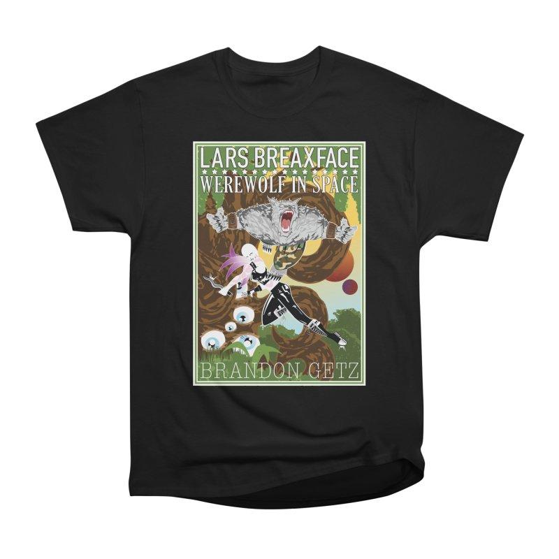 Lars Breaxface Cover - Brian Price Men's Heavyweight T-Shirt by Spaceboy Books LLC's Artist Shop