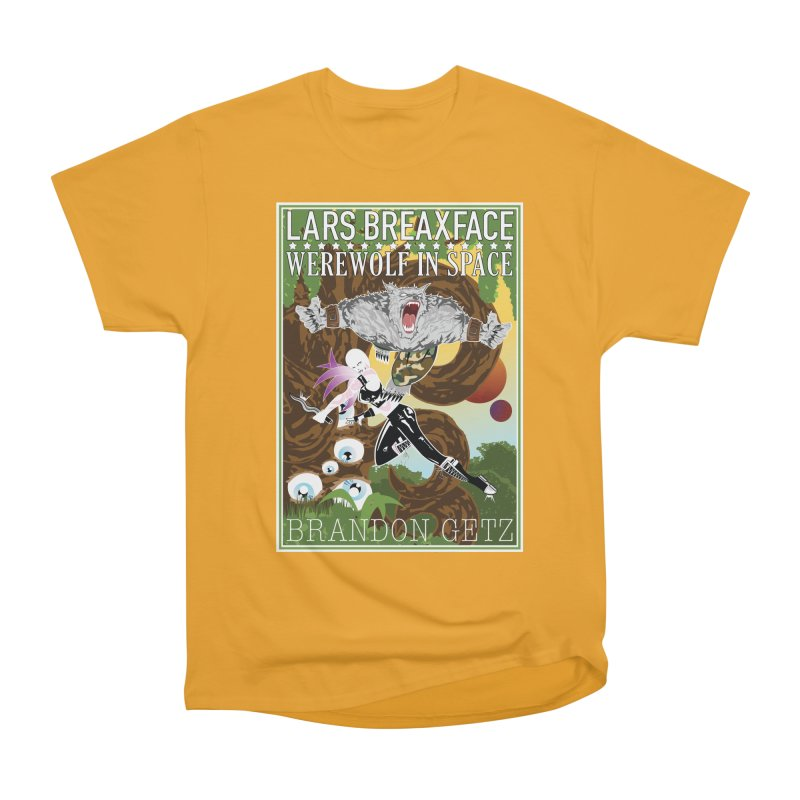 Lars Breaxface Cover - Brian Price Men's Heavyweight T-Shirt by Spaceboy Books LLC's Artist Shop