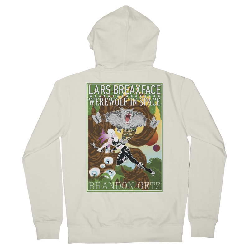 Lars Breaxface Cover - Brian Price Women's French Terry Zip-Up Hoody by Spaceboy Books LLC's Artist Shop