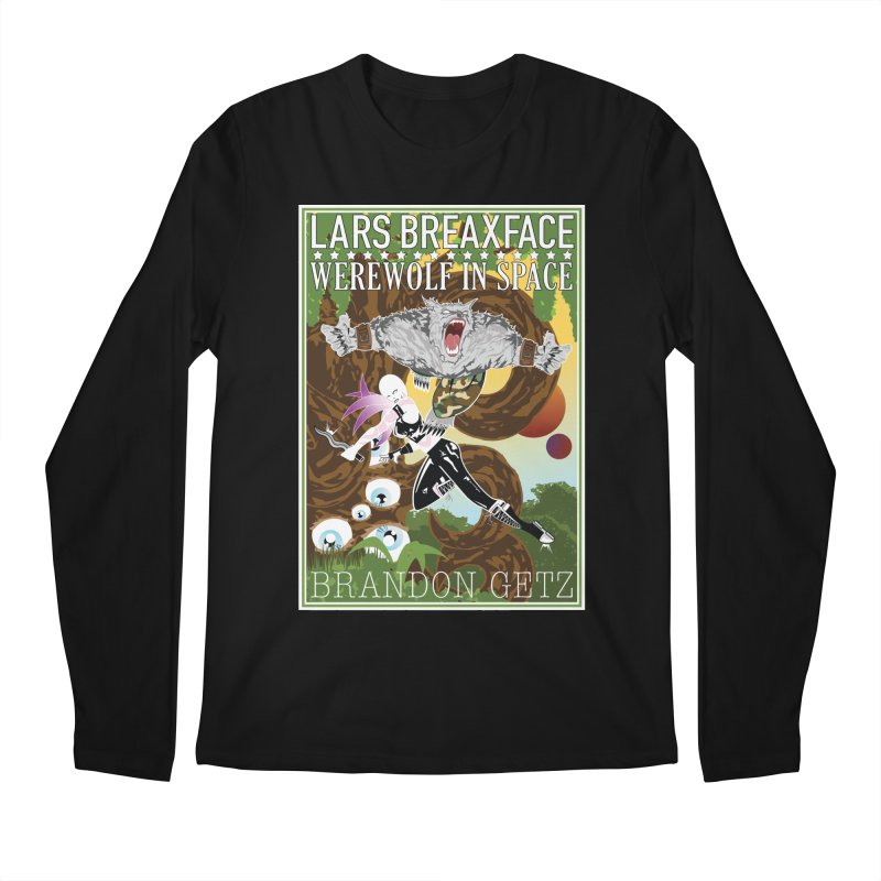 Lars Breaxface Cover - Brian Price Men's Regular Longsleeve T-Shirt by Spaceboy Books LLC's Artist Shop