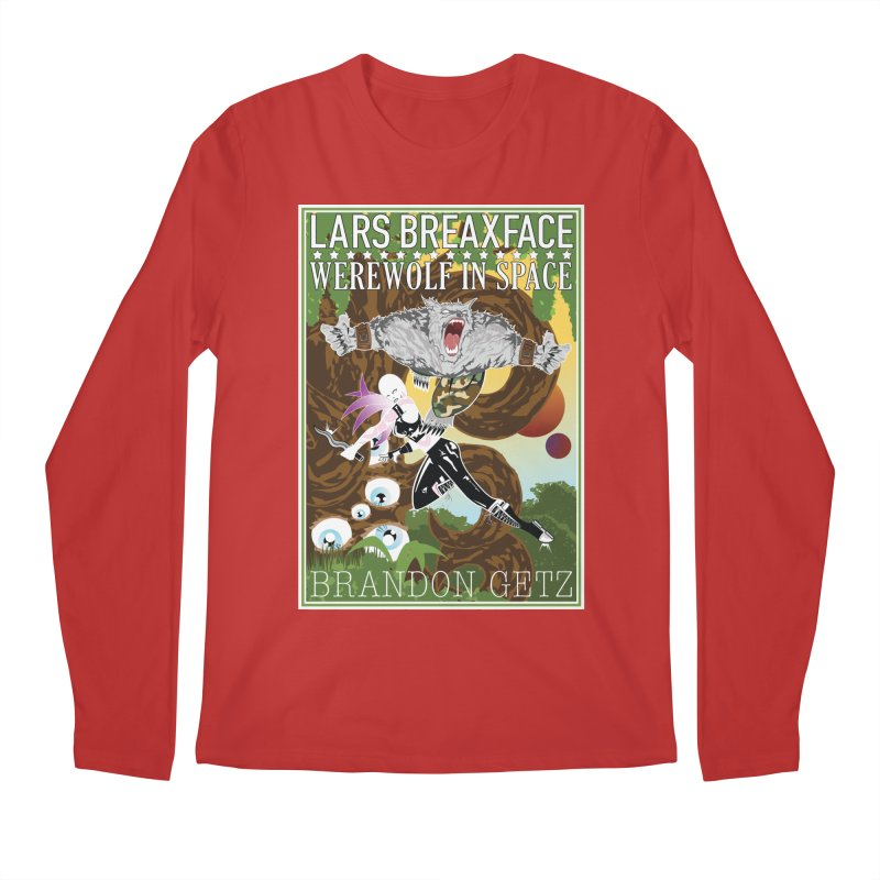 Lars Breaxface Cover - Brian Price Men's Regular Longsleeve T-Shirt by Spaceboy Books LLC's Artist Shop