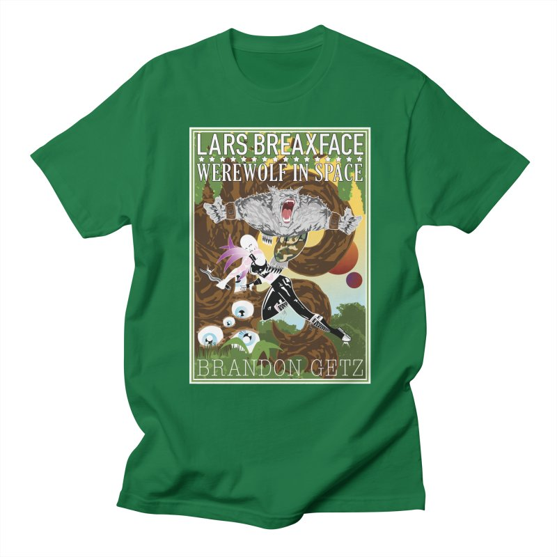 Lars Breaxface Cover - Brian Price Men's T-Shirt by Spaceboy Books LLC's Artist Shop