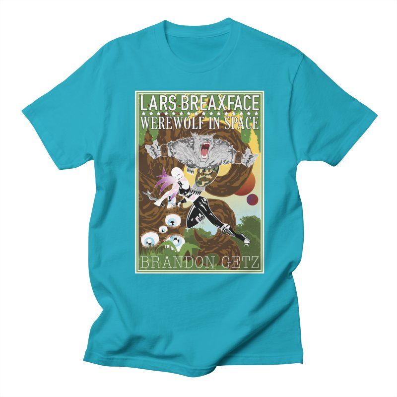 Lars Breaxface Cover - Brian Price Men's Regular T-Shirt by Spaceboy Books LLC's Artist Shop