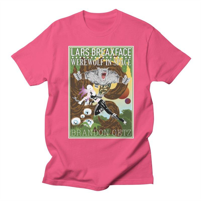 Lars Breaxface Cover - Brian Price Men's Regular T-Shirt by Spaceboy Books LLC's Artist Shop