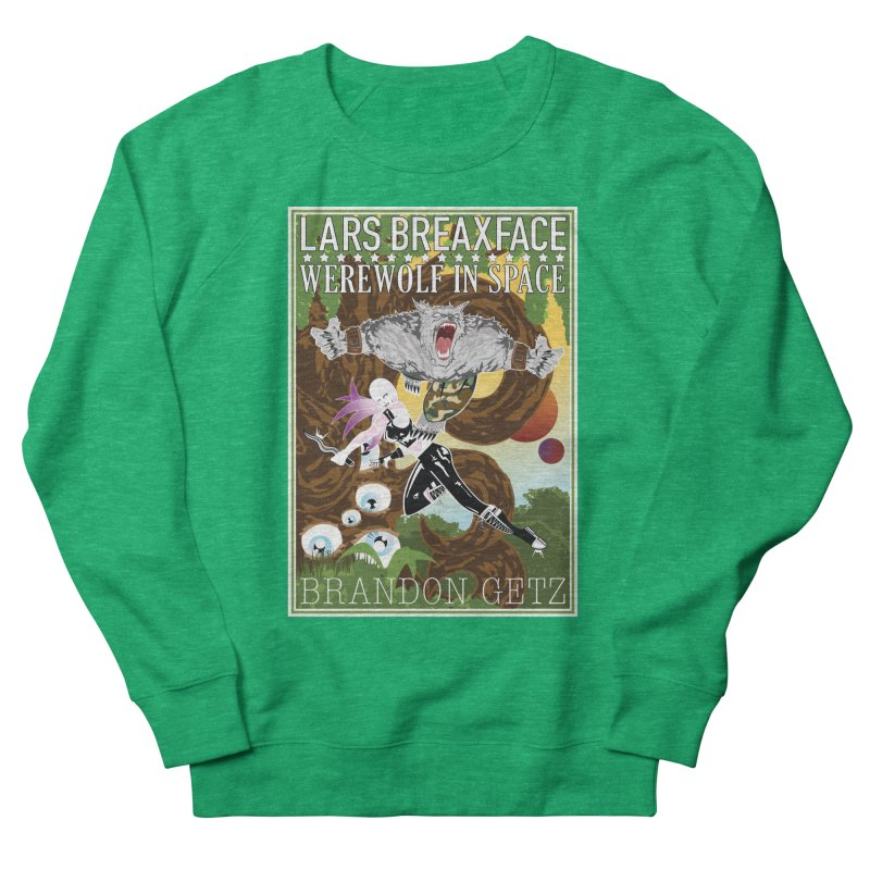 Lars Breaxface Cover - Brian Price Women's Sweatshirt by Spaceboy Books LLC's Artist Shop