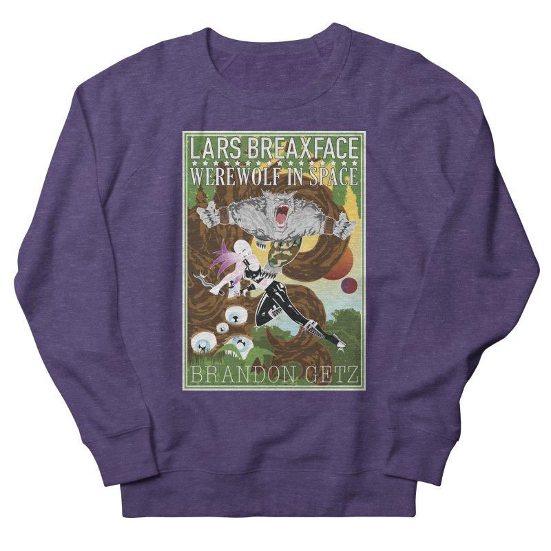Lars Breaxface Cover - Brian Price Men's Sweatshirt by Spaceboy Books LLC's Artist Shop