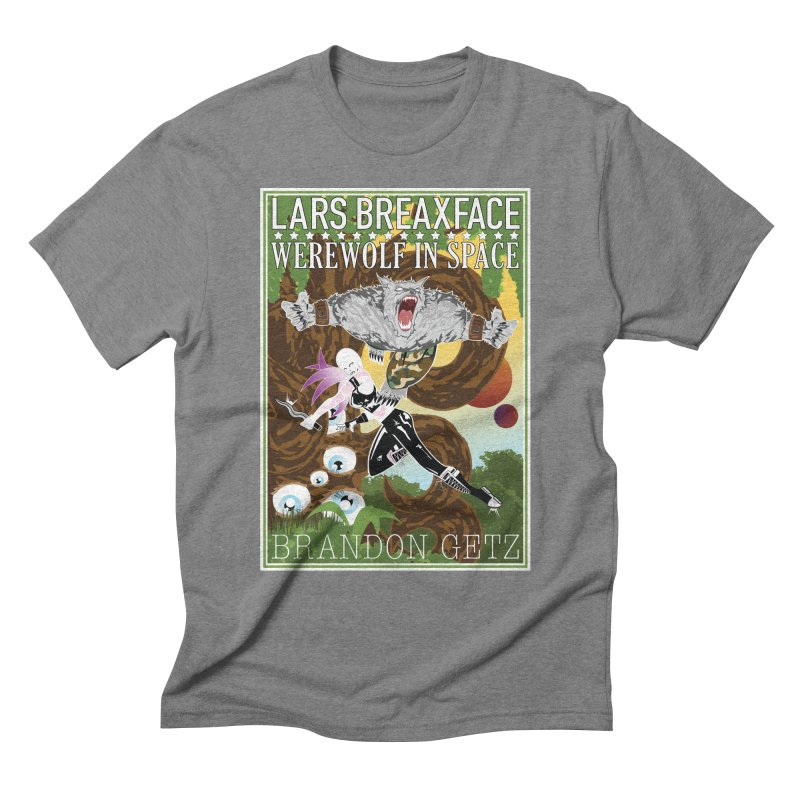 Lars Breaxface Cover - Brian Price Men's Triblend T-Shirt by Spaceboy Books LLC's Artist Shop