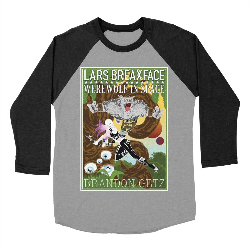 Lars Breaxface Cover - Brian Price Women's Baseball Triblend Longsleeve T-Shirt by Spaceboy Books LLC's Artist Shop