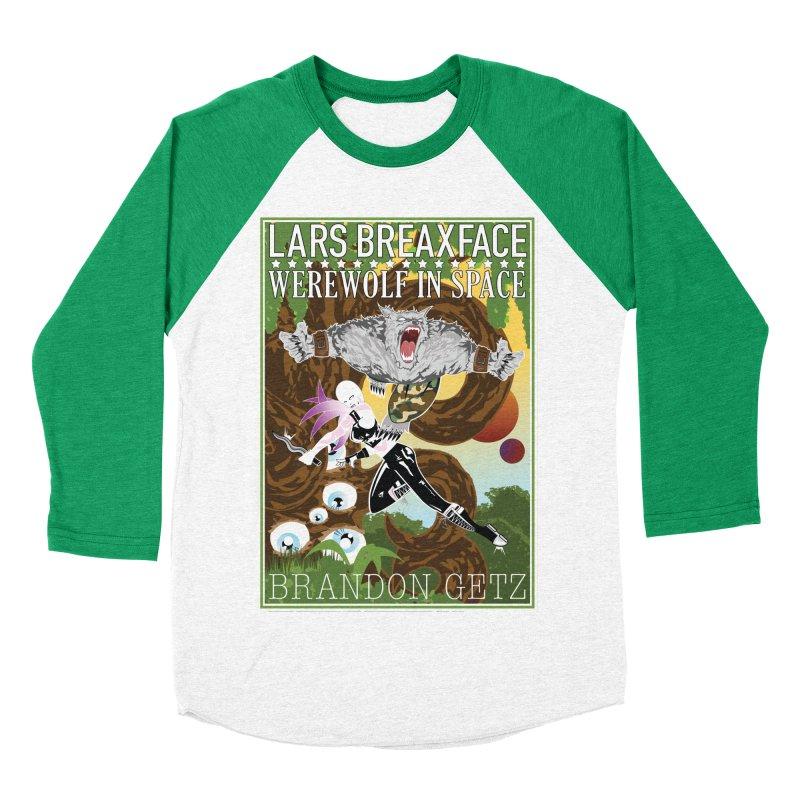 Lars Breaxface Cover - Brian Price Men's Baseball Triblend Longsleeve T-Shirt by Spaceboy Books LLC's Artist Shop