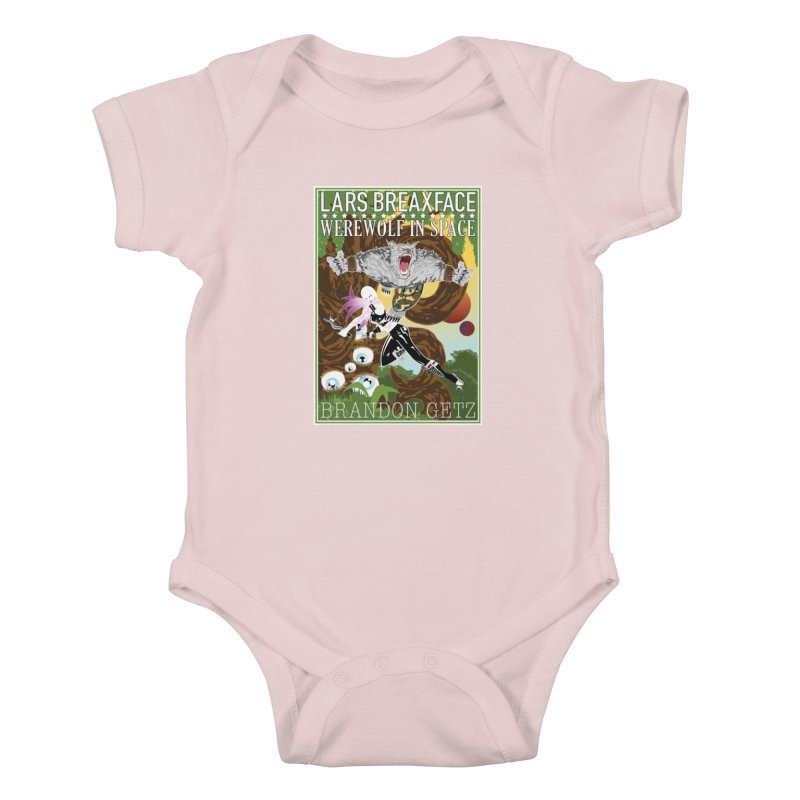 Lars Breaxface Cover - Brian Price Kids Baby Bodysuit by Spaceboy Books LLC's Artist Shop