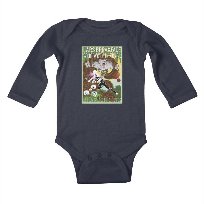 Lars Breaxface Cover - Brian Price Kids Baby Longsleeve Bodysuit by Spaceboy Books LLC's Artist Shop