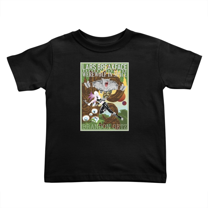 Lars Breaxface Cover - Brian Price Kids Toddler T-Shirt by Spaceboy Books LLC's Artist Shop