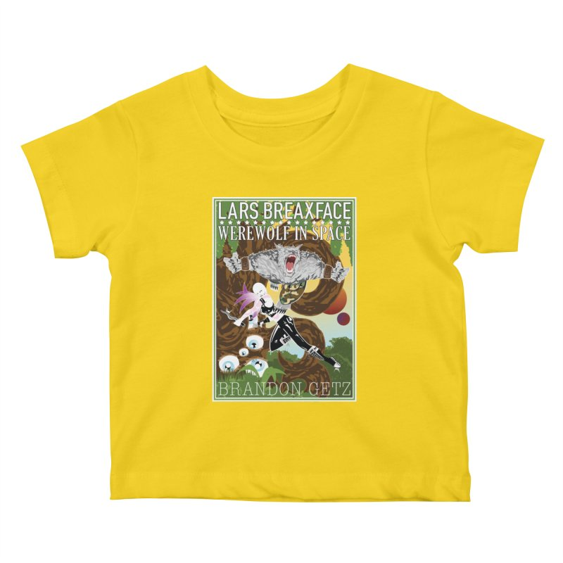Lars Breaxface Cover - Brian Price Kids Baby T-Shirt by Spaceboy Books LLC's Artist Shop