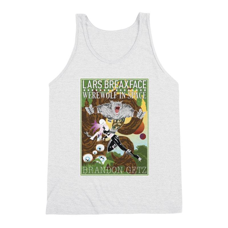 Lars Breaxface Cover - Brian Price Men's Triblend Tank by Spaceboy Books LLC's Artist Shop