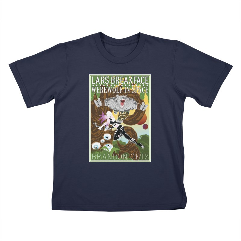 Lars Breaxface Cover - Brian Price Kids T-Shirt by Spaceboy Books LLC's Artist Shop