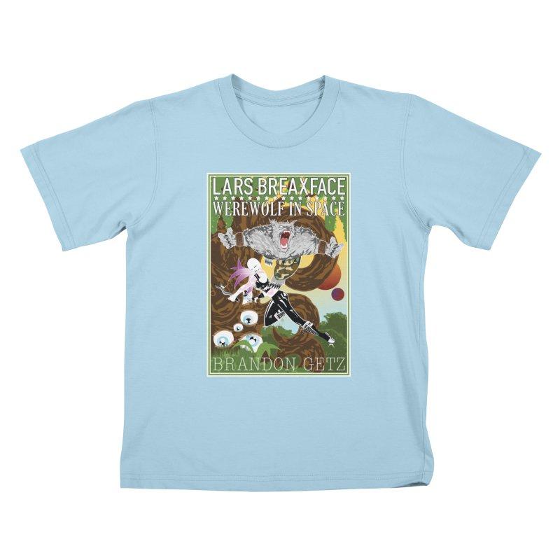 Lars Breaxface Cover - Brian Price Kids T-Shirt by Spaceboy Books LLC's Artist Shop