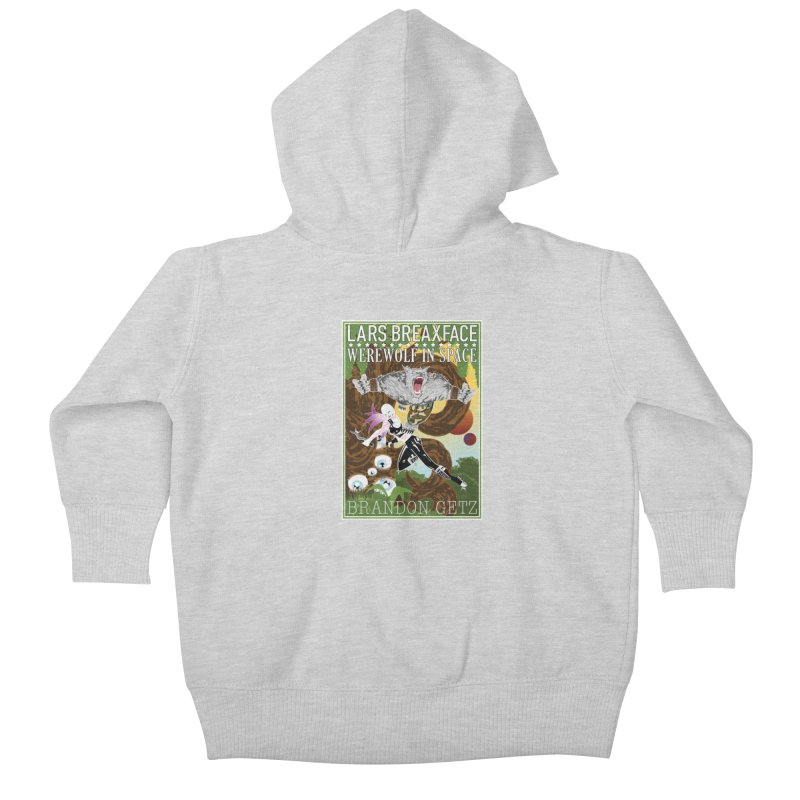 Lars Breaxface Cover - Brian Price Kids Baby Zip-Up Hoody by Spaceboy Books LLC's Artist Shop