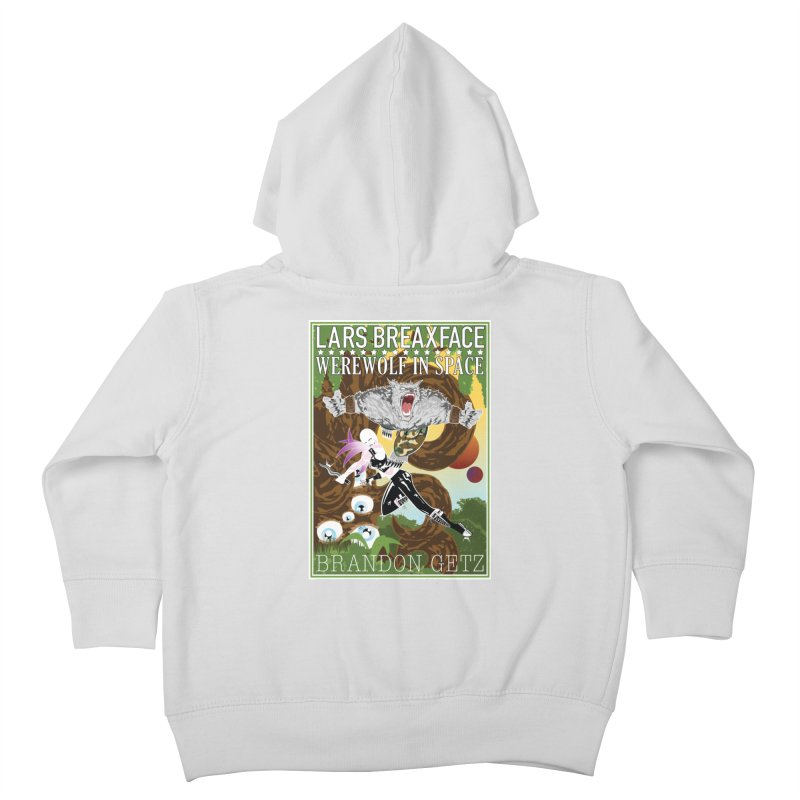 Lars Breaxface Cover - Brian Price Kids Toddler Zip-Up Hoody by Spaceboy Books LLC's Artist Shop