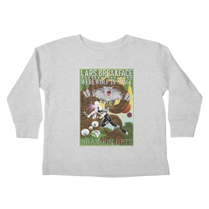 Lars Breaxface Cover - Brian Price Kids Toddler Longsleeve T-Shirt by Spaceboy Books LLC's Artist Shop