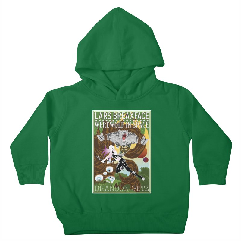 Lars Breaxface Cover - Brian Price Kids Toddler Pullover Hoody by Spaceboy Books LLC's Artist Shop