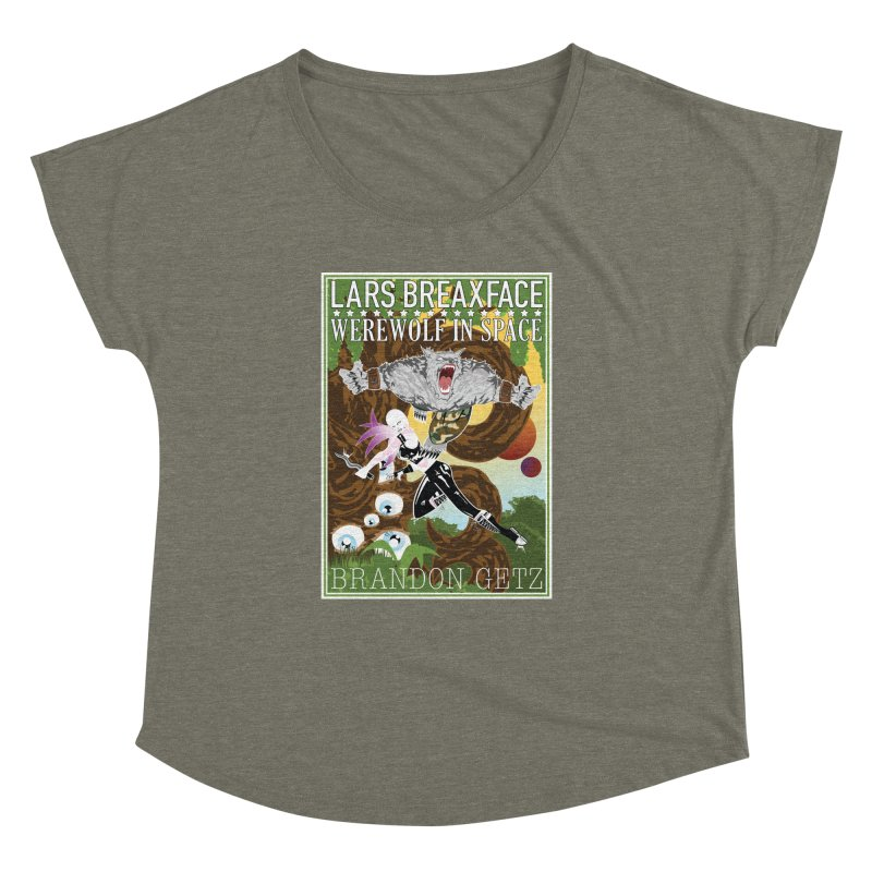 Lars Breaxface Cover - Brian Price Women's Dolman Scoop Neck by Spaceboy Books LLC's Artist Shop