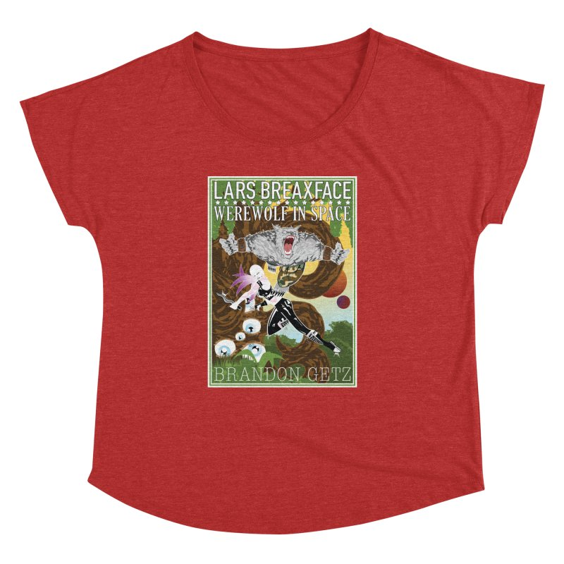 Lars Breaxface Cover - Brian Price Women's Dolman Scoop Neck by Spaceboy Books LLC's Artist Shop