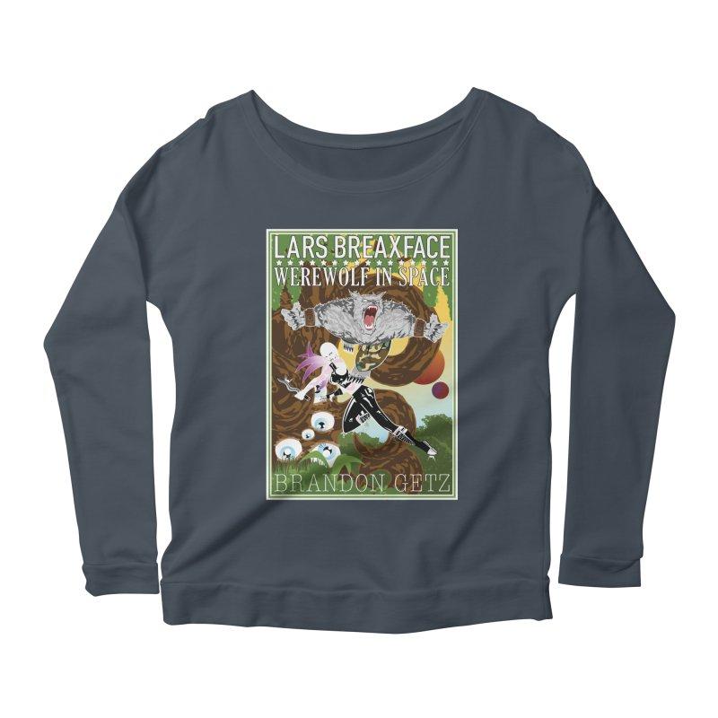 Lars Breaxface Cover - Brian Price Women's Scoop Neck Longsleeve T-Shirt by Spaceboy Books LLC's Artist Shop