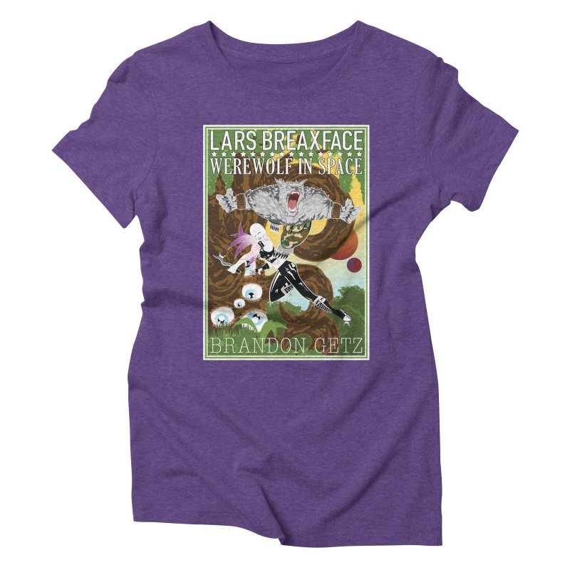 Lars Breaxface Cover - Brian Price Women's Triblend T-Shirt by Spaceboy Books LLC's Artist Shop